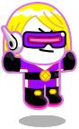 ウルトラパープルジェームズ:LINEレンジャー