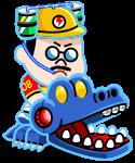 恐怖のワニゲーム部長