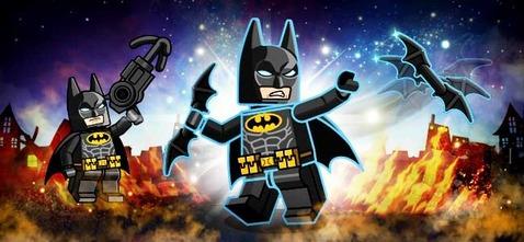LINEレンジャー×レゴ®バットマン ザ・ムービーコラボ:バットマン