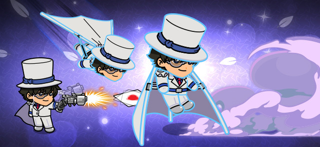 LINEレンジャー×名探偵コナンコラボ・怪盗キッド