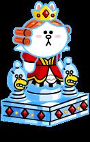 8★ホワイトクイーンコニー